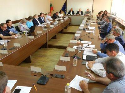 Днес общинските съветници в град Гоце Делчев заседаваха присъствено