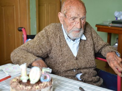 Димитър Перухов от Гоце Делчев навърши 105 години