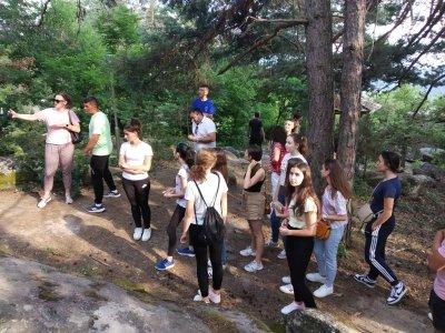 Млади хора от Гоце Делчев показаха красотите на родния край на свои връстници от Северна Македония