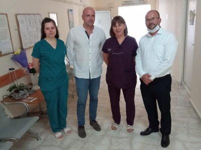 Още едно дарение за АГО в болницата на град Гоце Делчев