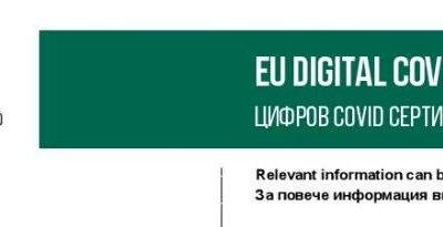 От четвъртък България въвежда зелен сертификат за коронавирус
